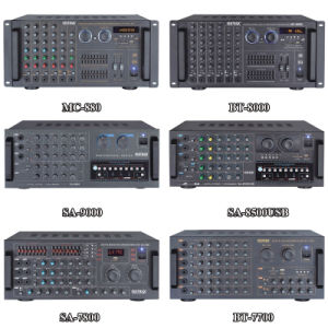 AV-3033 China Factory M Audio Karaoke Mixer Power Amplifier pictures & photos