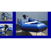Alloy Floor Inflatable Boat With Boat