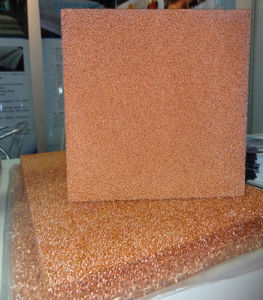Porous Metal Foam Cu (open cell Copper foam 500mm*500mm) pictures & photos