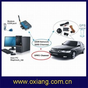 GPRS SMS Real-Time Remote Vehicle Tracker Software by Cell Phone/PC pictures & photos
