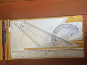 4PCS Ruler Set with Protractor pictures & photos
