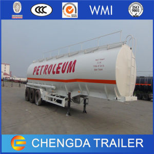 3 Axles 45000 Liters Petrol Oil Fuel Tanker Storage Tank Semi Trailer Price for Sale pictures & photos
