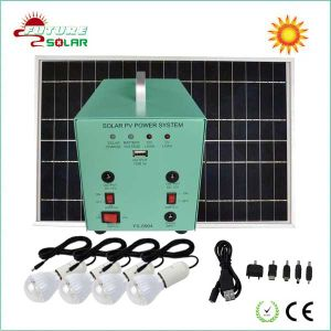 Mini 25W Solar Lighting and Charger System (FS-S904)