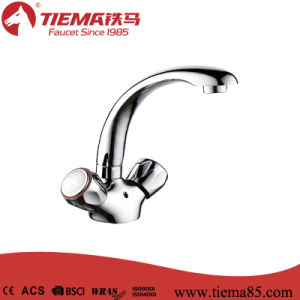 New Design Polished Brass Kitchen Tap (ZS65704)