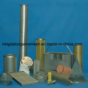 Stainless Steel Woven Wire Mesh Filter Tubes pictures & photos