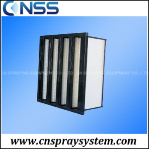 4V Bank Filter Dust Collector Air Filter Ceiling Filter pictures & photos