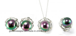 2015 Fashion Jewelry Wholesale Fashion 925 Silver Pearl Jewelry S3182 pictures & photos