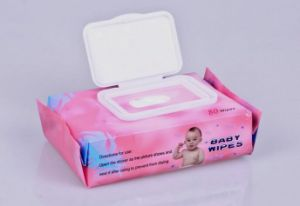 OEM Nonwoven Splunce Baby Wet Wipes pictures & photos