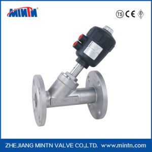 F5-Pneumatic Angle Seat Valve-Flange Ends pictures & photos