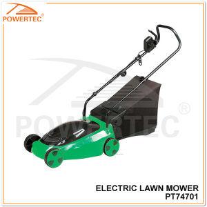 Powertec 340mm1400W Electric Lawn Mower (PT74701) pictures & photos