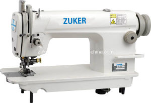 Zuker High Speed Lockstitch Industrial Sewing Machine with Cutter (ZK5200)