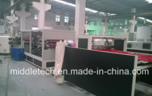 Plastic PVC+PMMA/Asa Wave/Glaze Roofing Tile Making/Extrusion/Production Line pictures & photos