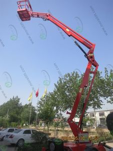 Hot Sale Portable Boom Lift Using Diesel pictures & photos