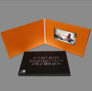 5inch Video Brochure Cards for Presentations Digital Advertising Player 5 Inch Screen Video Greeting pictures & photos