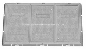 En124 B125 Green Composite Telecom Manhole Cover