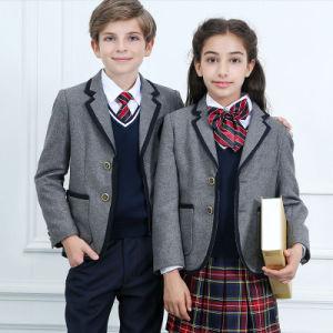 2016 OEM School Uniform Student Blazer pictures & photos
