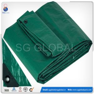 6*12 Green HDPE Coated Waterproof Tarps pictures & photos