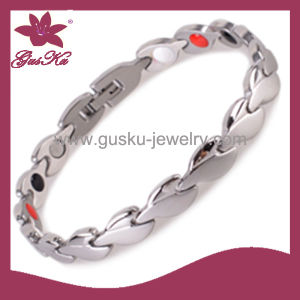 Unique Custom Stainless Steel Silver Jewelry (2015 Gus-STB-251) pictures & photos