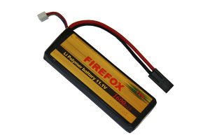 Firefox 11.1V 1600mAh Lipo Li-Po Li-Polymer Airsoft Battery 12c pictures & photos