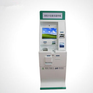 Lobby Medical Card Reader Bill Payment with Self-Service Kiosk pictures & photos