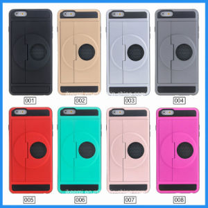 2016 New Kickstand Card Holder Mobile Phone Case pictures & photos
