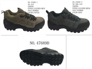 No. 47689 Two Color Hiking Shoes Stock Shoes pictures & photos