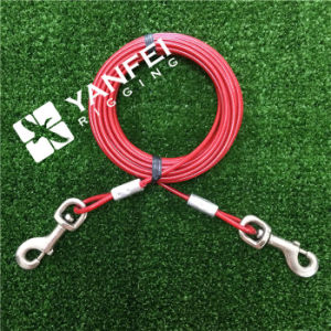 7*7 3/32′′-5/32′′ Medium Size Dog Tie out Cable pictures & photos