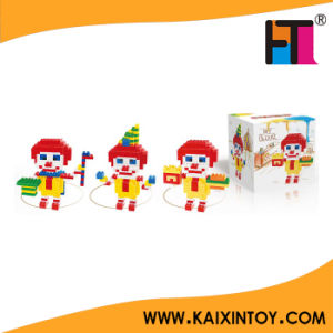 Clown Nano Block Toy in China Educational Assembling DIY Toy 255PCS pictures & photos