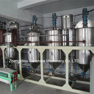 1t/D Soybean Oil Refinery Mini Soya Oil Refinery Plant pictures & photos