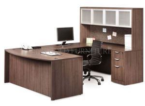 Varied Modern Wooden Executive Office Desk with Bookshelf (SZ-OD265) pictures & photos