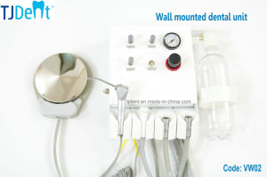 Convenient Wall Hanging Type Dental Unit (VW02) pictures & photos