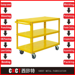 Powder Coating Trolley Structural Steel Fabrication pictures & photos