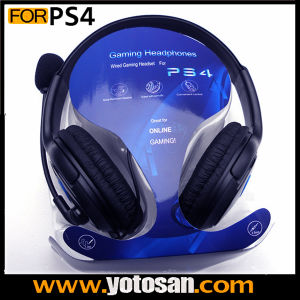 Gaming Wired Headset Headphones for Sony Playstation 4 PS4 Game Console Controller pictures & photos