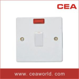 British (BS) / UK 20A Wall Switch with Neon (W228) pictures & photos