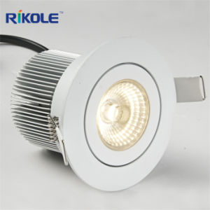 Dimmable COB LED Downlight 12W