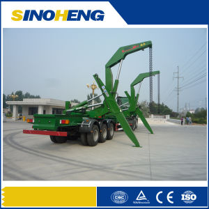 China Self Loading Container Semi Trailer pictures & photos
