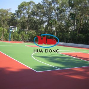 Outdoor Rubber Basketball Flooring Indoor Rubber Basketball Flooring pictures & photos