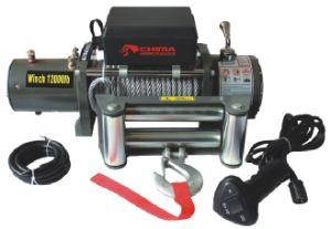 Jeep, Truck SUV Recovery Winch, 4X4 Winch, 12000lbs (ordinary) Cable Pulling pictures & photos