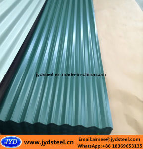 Prepainted Galvanized Corrugated Steel Roofing Sheet/PPGI pictures & photos