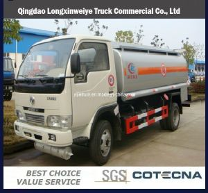 Dongfeng Cummins 4X2 6000L Oil Tanker Truck pictures & photos