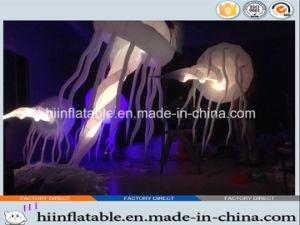 2015 Amazing LED Lighting Inflatable Jellyfish 003for Night Decoration