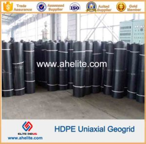HDPE Uniaxial Geogrid for Embankments Stabilization pictures & photos