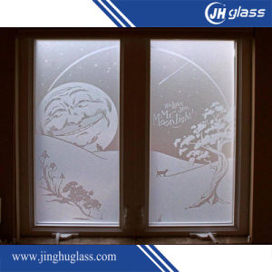 6mm Curved Frost Glass pictures & photos