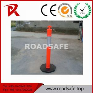Rubber Reflective Road Safety Road Warning 110cm Spring Delineator Post pictures & photos