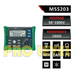 High Quality Reliable Digital Insulation Tester (MS5203) pictures & photos