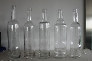 750ml Spirit Glass Bottle with Screw Cap pictures & photos