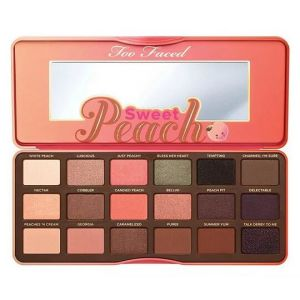 Too Faced Sweet Peach 18 Color Cosmetic Eyeshadow Pallete pictures & photos