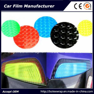 4D Cat Eye Car Head Light Wrap Vinyl Film, PVC Sticker for Tail Light Fog Light pictures & photos