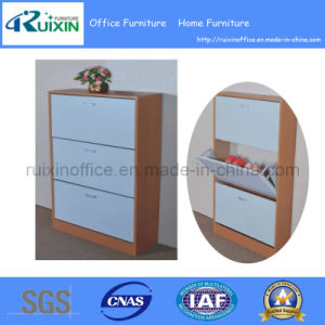 3 Layers Wooden Shoe Cabinet (RX-M1001) pictures & photos