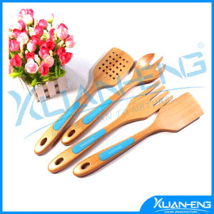 4 Wooden Spoons Spatula Cake Making Cooking Kit pictures & photos